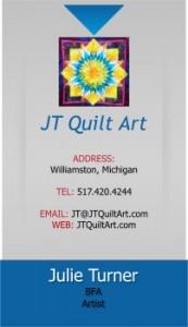 Business Card Julie Turner